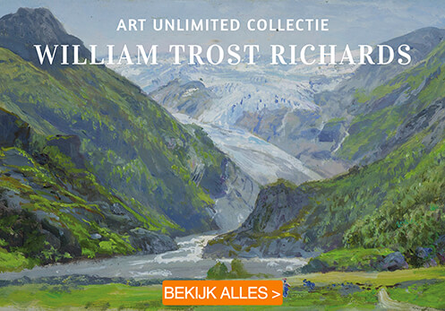 William Trost Richards postkaarten